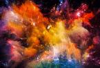 Explosão de cores