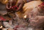 Foto de um ritual xamânico