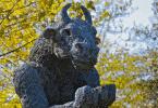 Estátua do minotauro