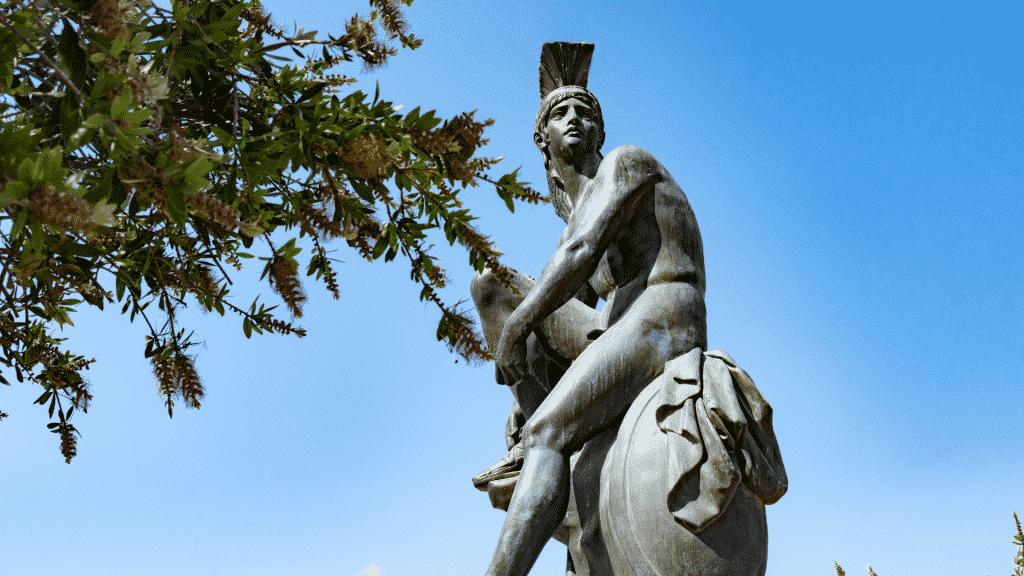 Estátua de Teseu em Atenas