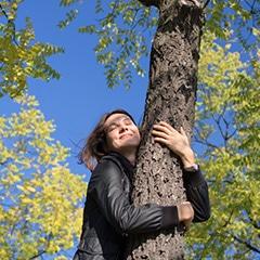 contato com a natureza