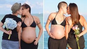 lesbian-pregnant-couples