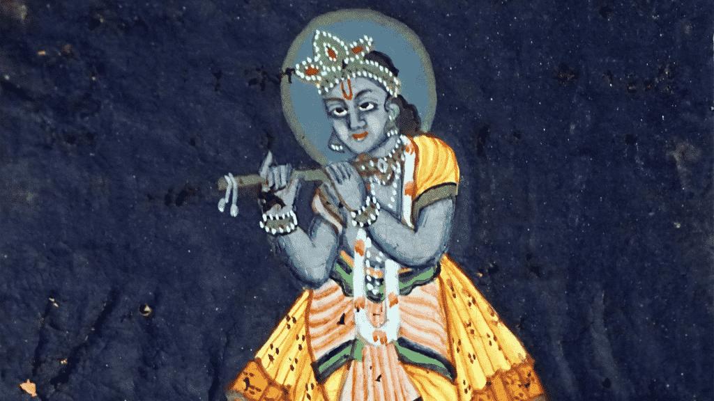 Desenho de Krishna
