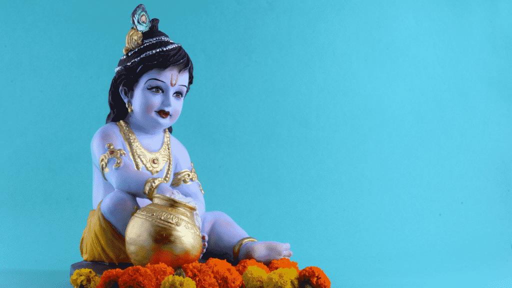 Estátua de Krishna