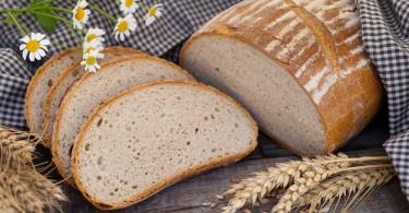 Pão de mandioca.