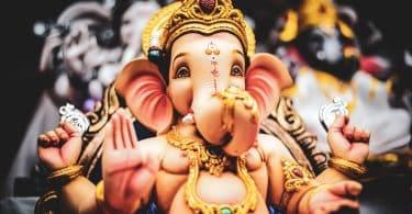 Estátua de Lord Ganesha.
