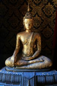 Buddha Statue, Buddha Image In Wat Intharam (wat Bang Yi Ruea No