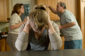 Daughter Suffers While Parents Fight