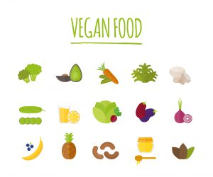 Vegan food vector illustration. Vegan food isolated on white background. Vegan food vector icon illustration. Vegan food isolated vector. Vegan food silhouette