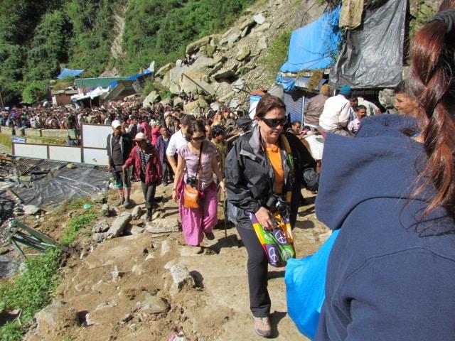 região dos Himalaias, na Índia