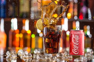 PRAGUE, CZECH REPUBLIC - may 5, 2015: Photo of can of Coca-Cola