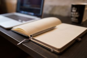 having a journal to share your thoughts or write down a simple to-do list is always vital for your productivity