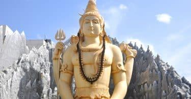Estátua do Deus Shiva.