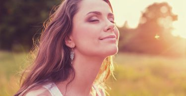 Women Healthy Lifestyle Sun Happiness Nature Cheerful People