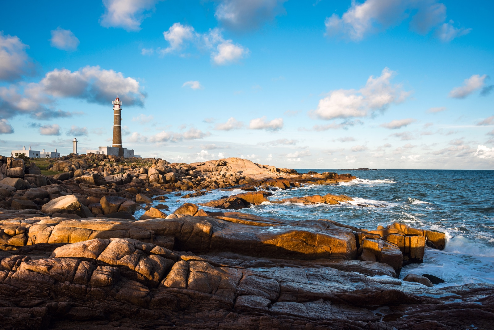 Lighthouse in Cabo Polonio, Rocha province, Uruguay