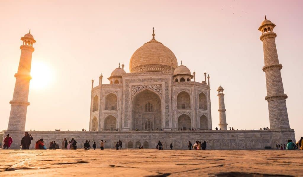 Taj-Mahal na índia