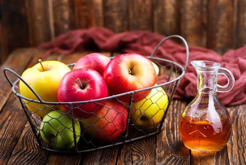 Vinagre de maçã.