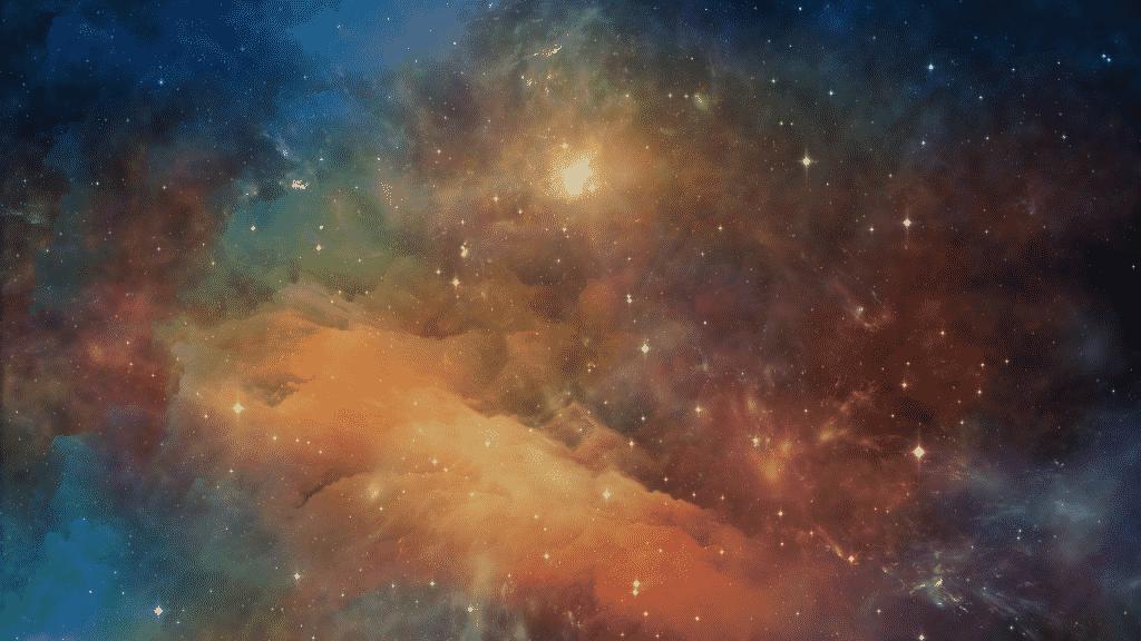 Fotografia da galáxia