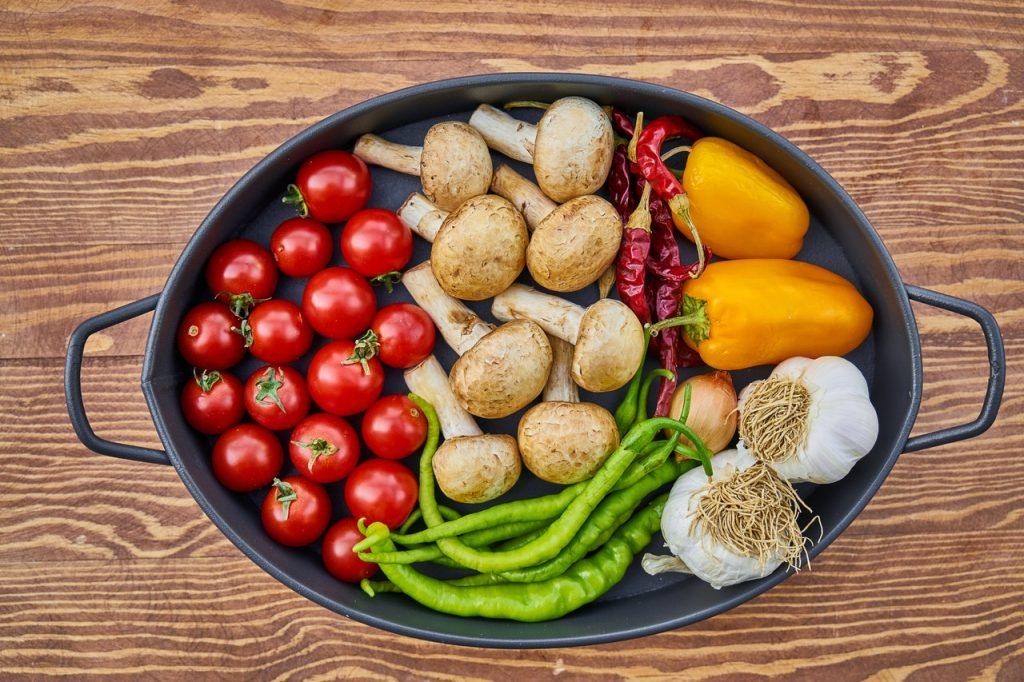 Uma panela com 7 tipos diferentes de leguminosas.