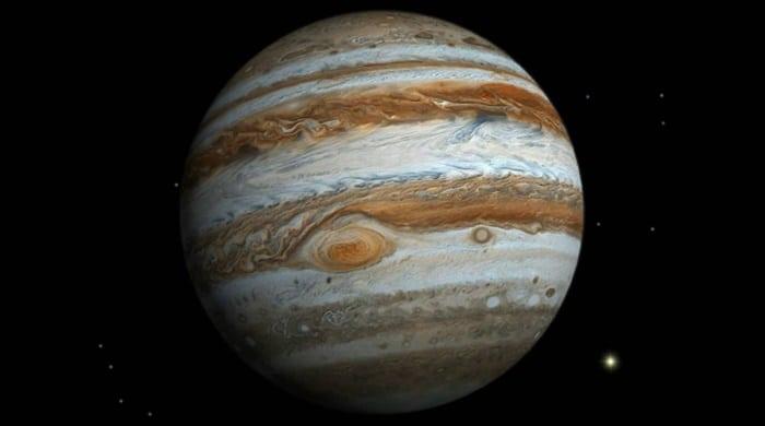 Imagem do planeta Júpiter.
