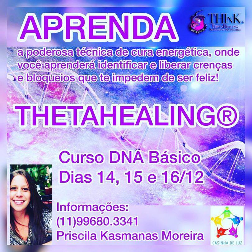 Banner do Curso de DNA Básico da THETAHEALING.
