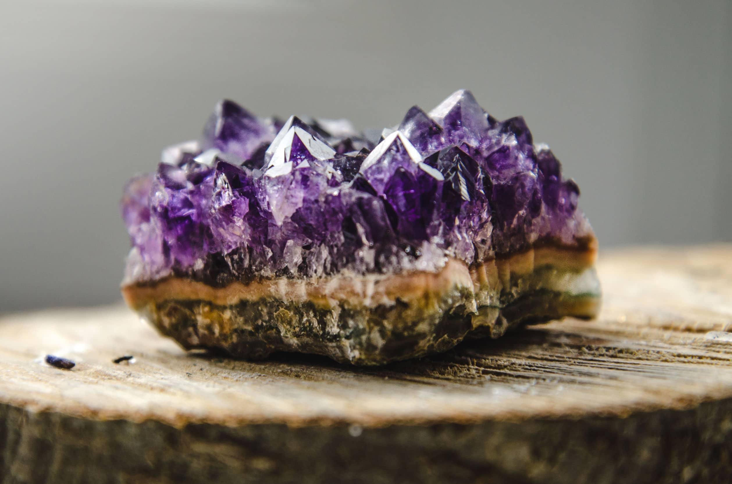 Foto da pedra Drusa de Cristal