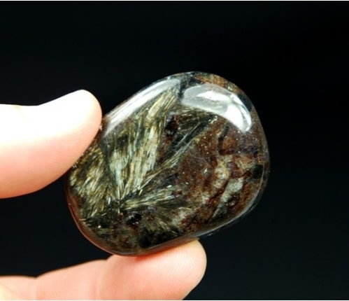 Foto da pedra Astrofilita