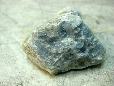 Foto de cristal Calcita Azul