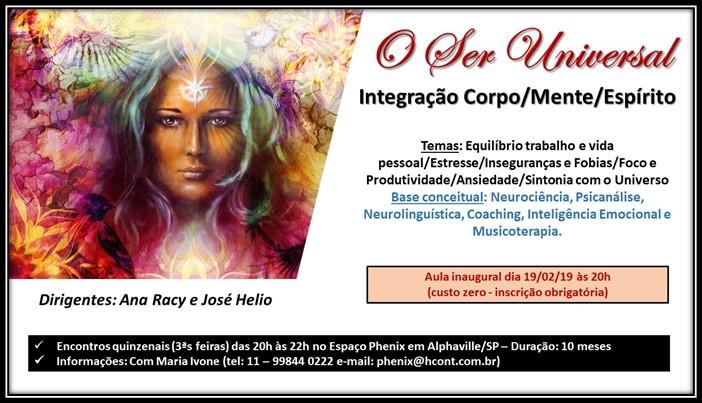 Imagem do curso O Ser Universal.