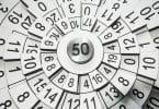 Números formando um círculo