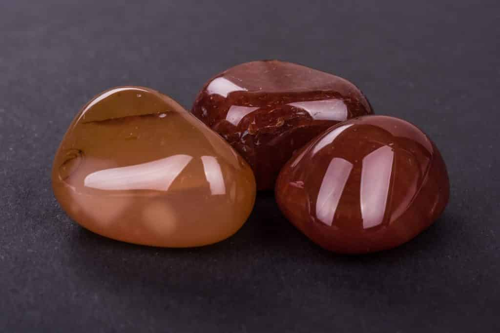 Pedras de Cornalina