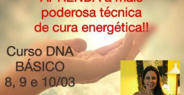 Banner com informações sobre o Curso DNA básico.