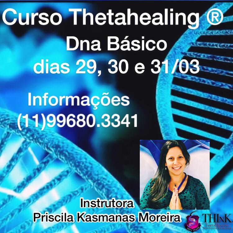 Curso Thetahealing DNA Básico.