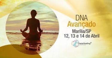 Banner de curso de DNA Thetahealing.
