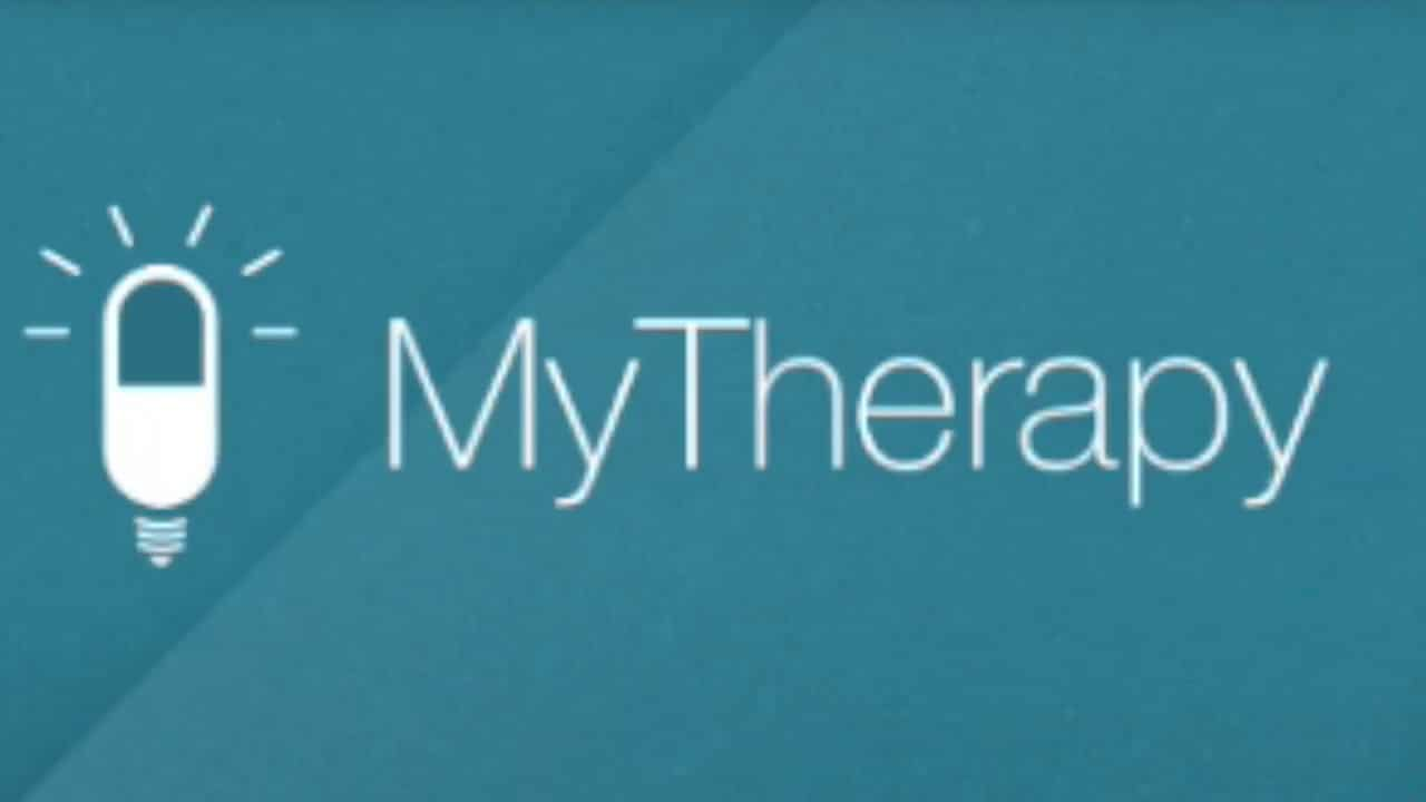 "Comprimido do logotipo do aplicativo ""MyTherapy"""
