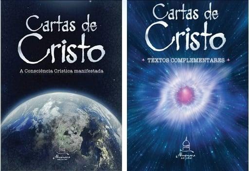 """Capa do livro """"Cartas de Cristo"""""""