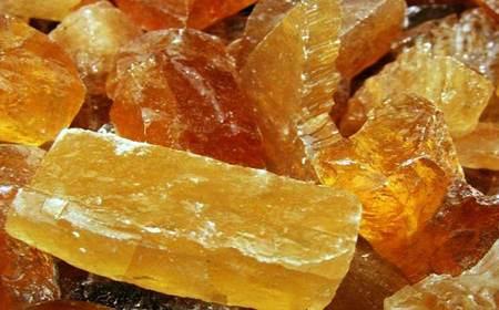 cristais lapidados de citrino