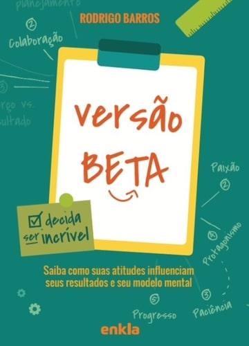 """Capa do livro """"Versão Beta"""""""