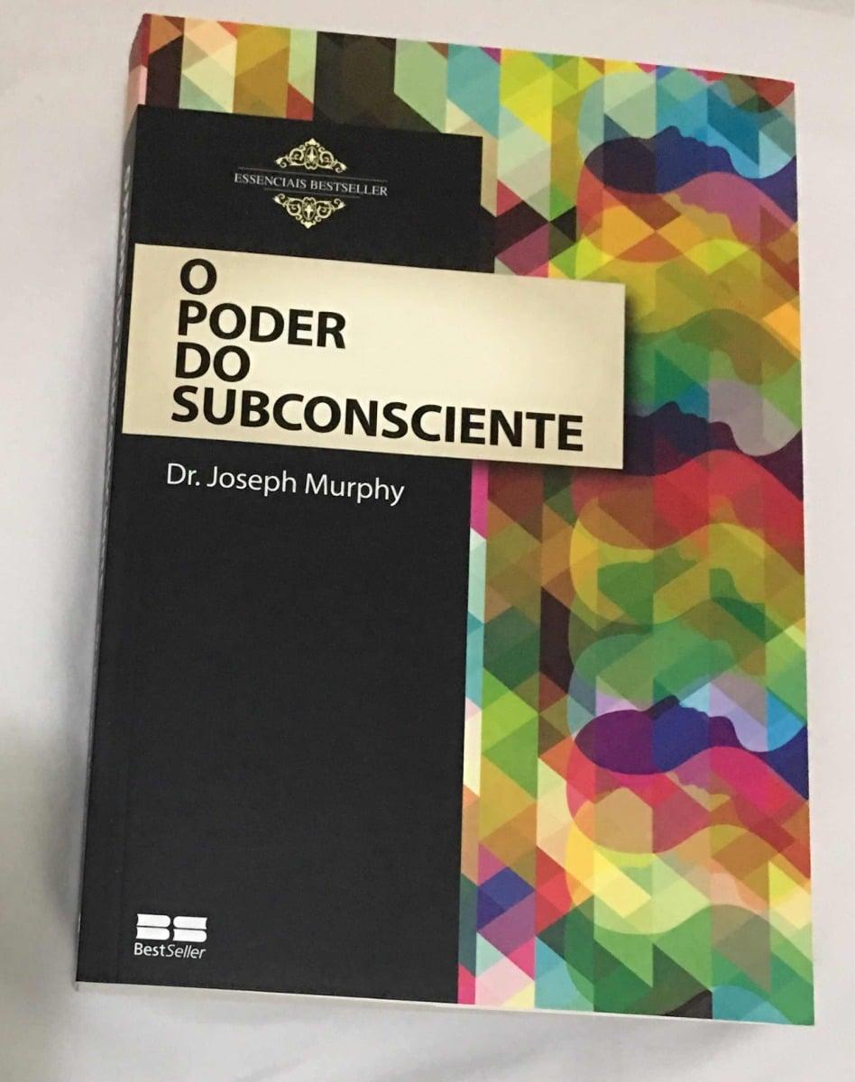 """Capa do livro """"O Poder do Subconsciente"""""""