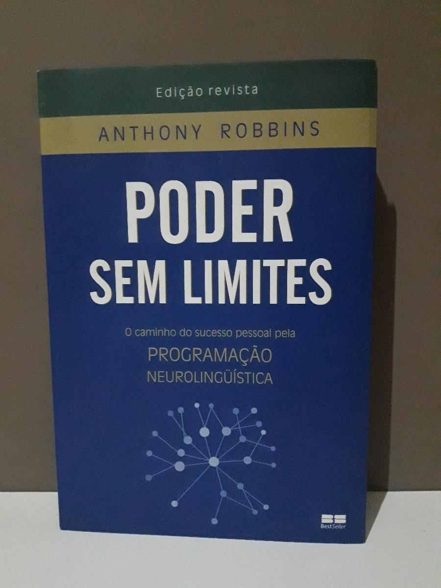 """Capa do livro """"O Poder Sem Limites"""""""