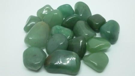 Cristais de quartzo verde
