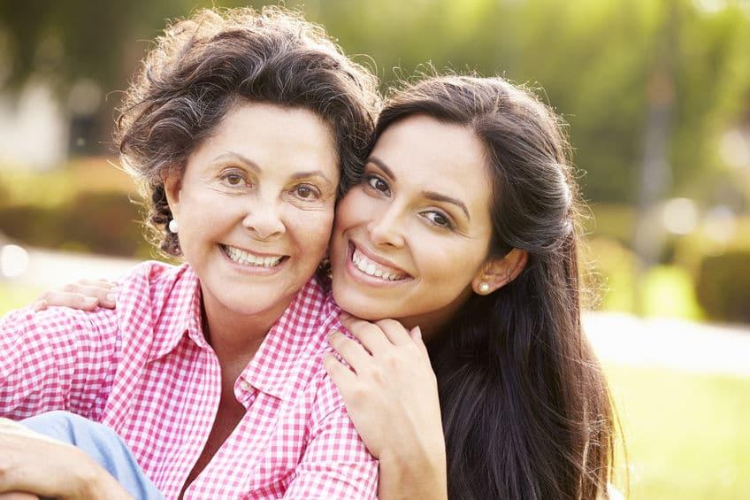 Mãe e filha juntas