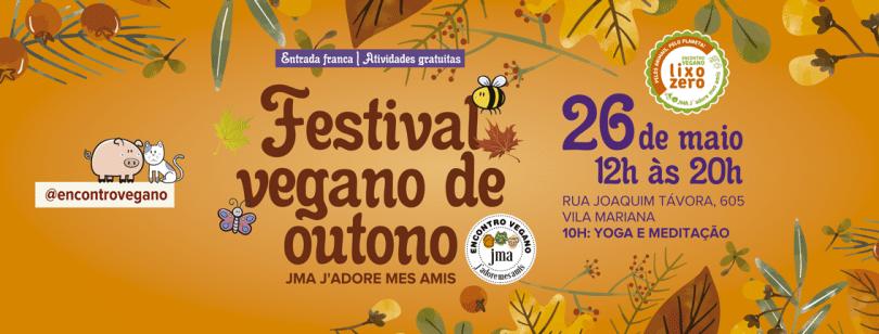 Festival Vegano e Outono em Maio 2019