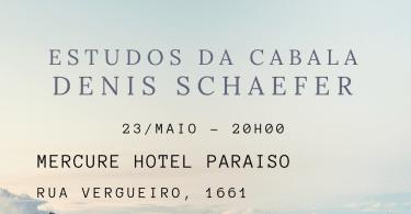 Estudos da Cabala: Banner da PALESTRA ESTUDOS DA CABALA