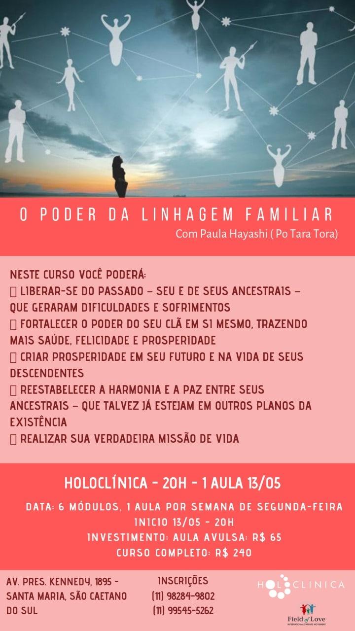 Banner com informações do curso O Poder da Linguagem Familiar
