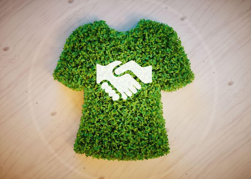 Conceito de moda sustentável