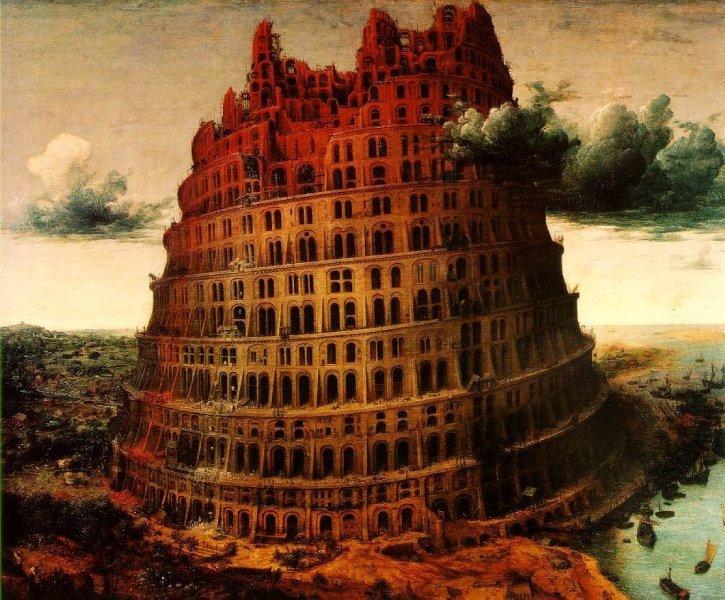 Ilustração da Torre de Babel