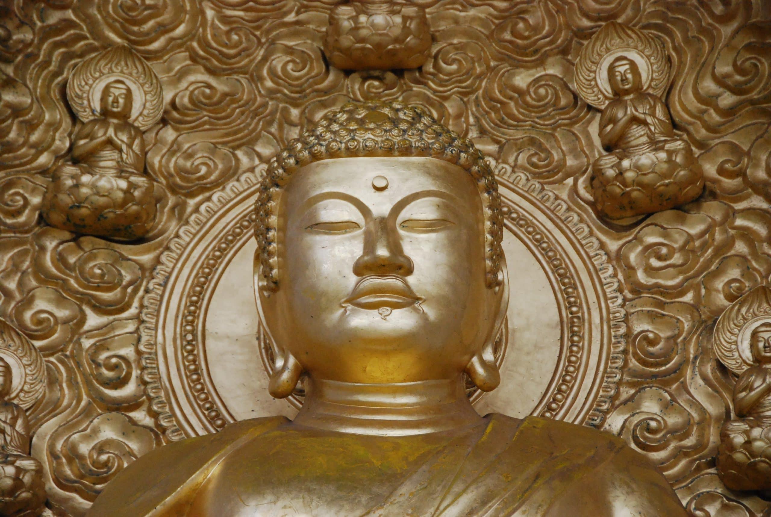 Escultura de Buda.