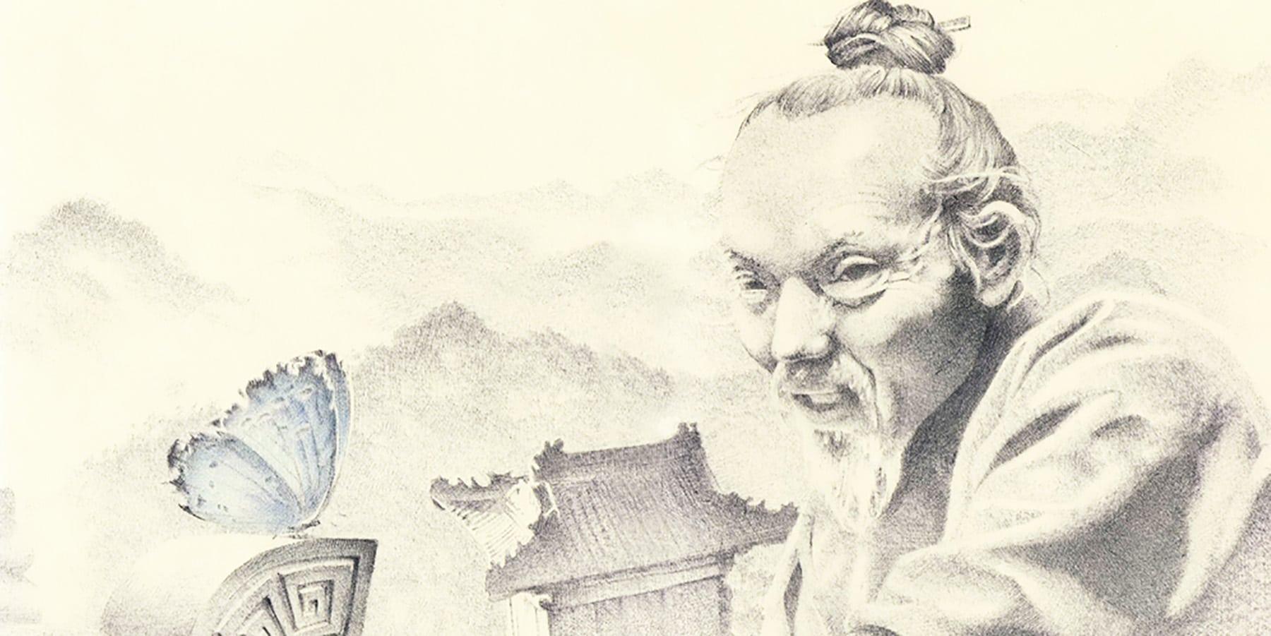 Ilustração de Chuang Tzu.