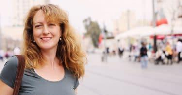 Retrato de mulher sorrindo